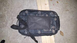 Magnettankrucksack, Unterseite