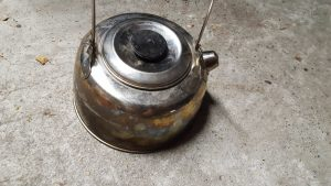 Zum Sirituskocher den passenden Wasserkessel