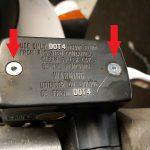 Na ja, zwei neue Schrauben am Bremsflüssigkeitsbehälter