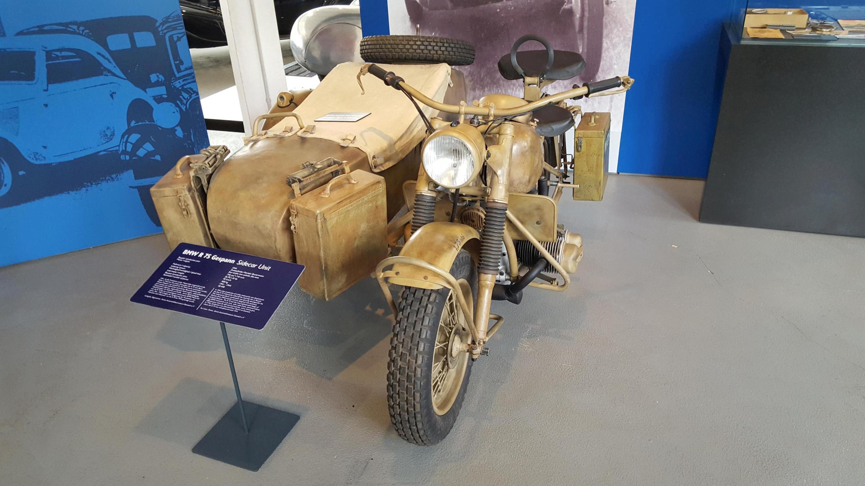 BMW mit Beiwagen