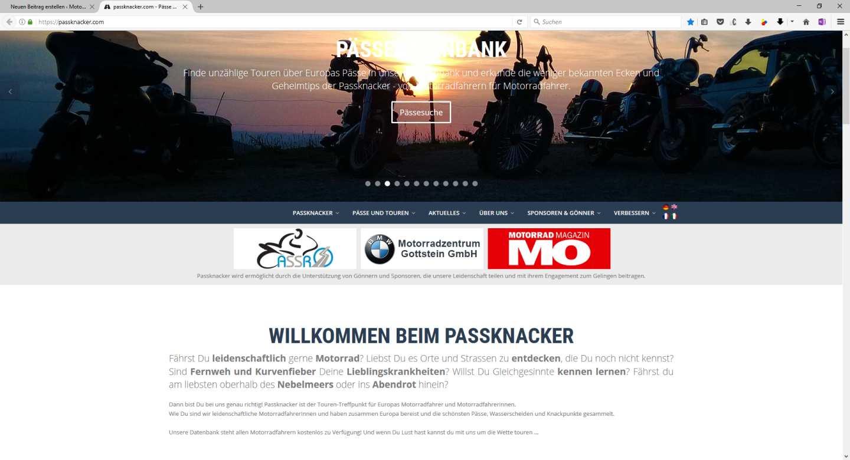 Passknacker.com Homepage