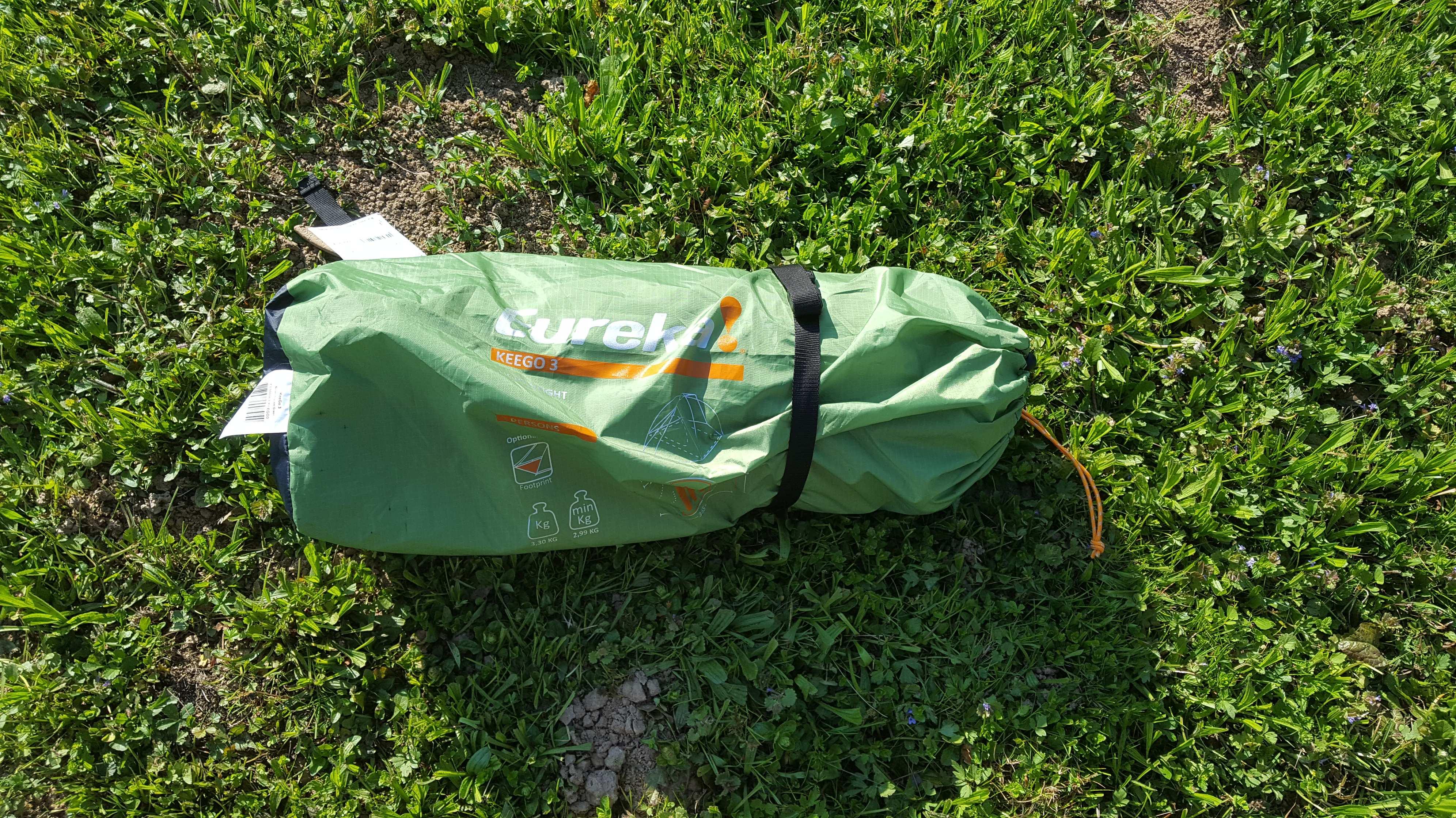 Das Eureka KeeGo 3 | Zelten, Motorrad