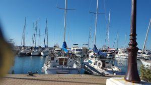 Hafen von Saintes Maries de la Mer