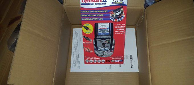 Das neue Batterieladegerate OptiMate 4
