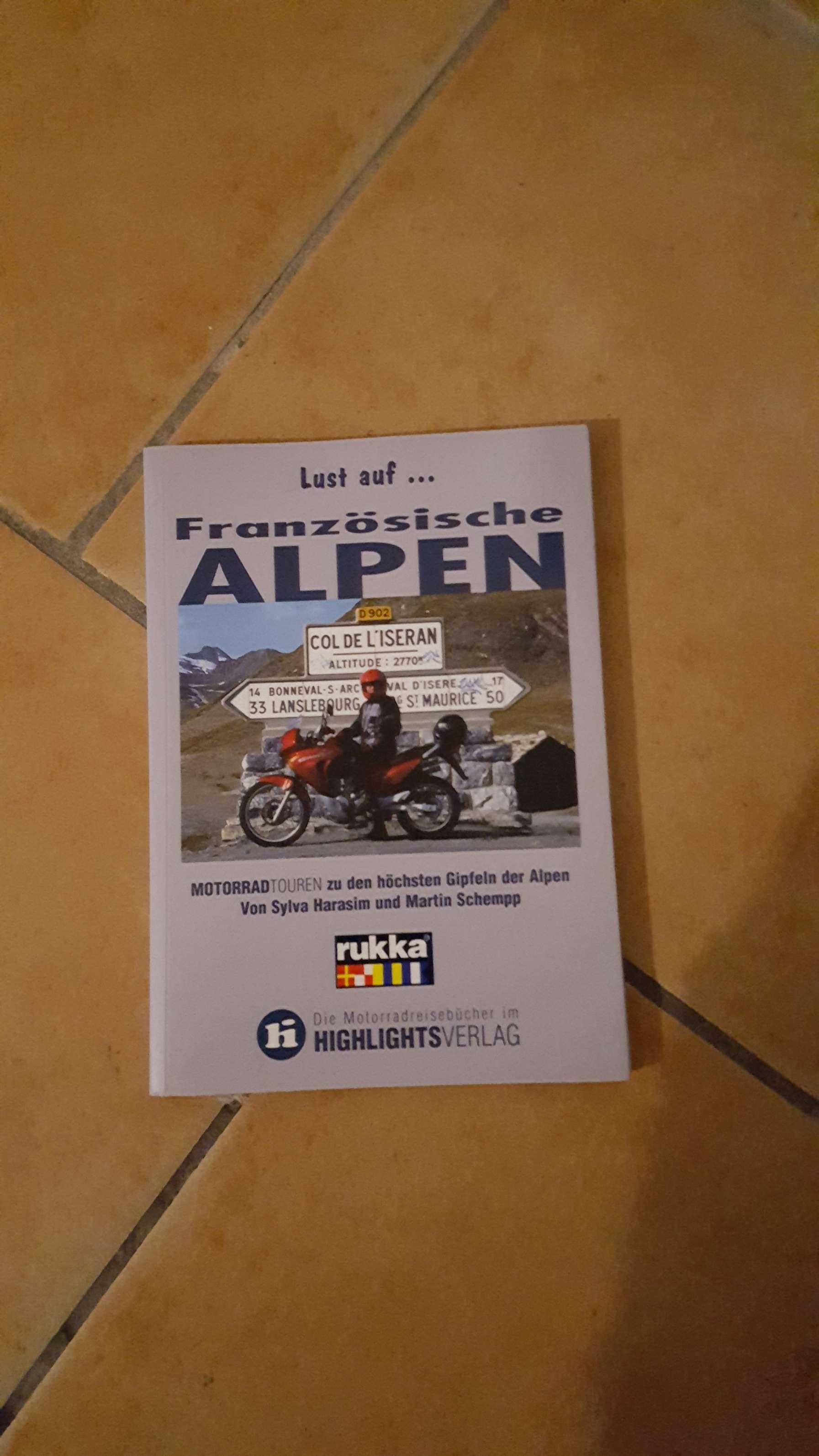 Reiseführer französische Alpen