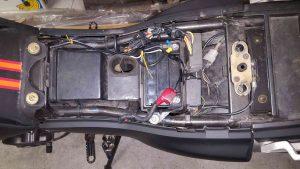 Batteriefach DR650