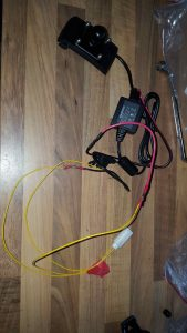 Kabelstrang des Garmin zumo 345