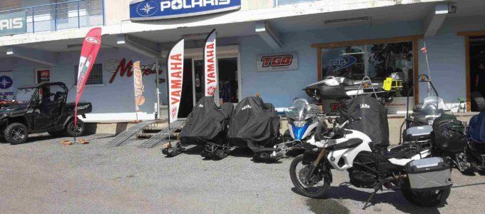 BMW bei der POLARIS-Vertretung