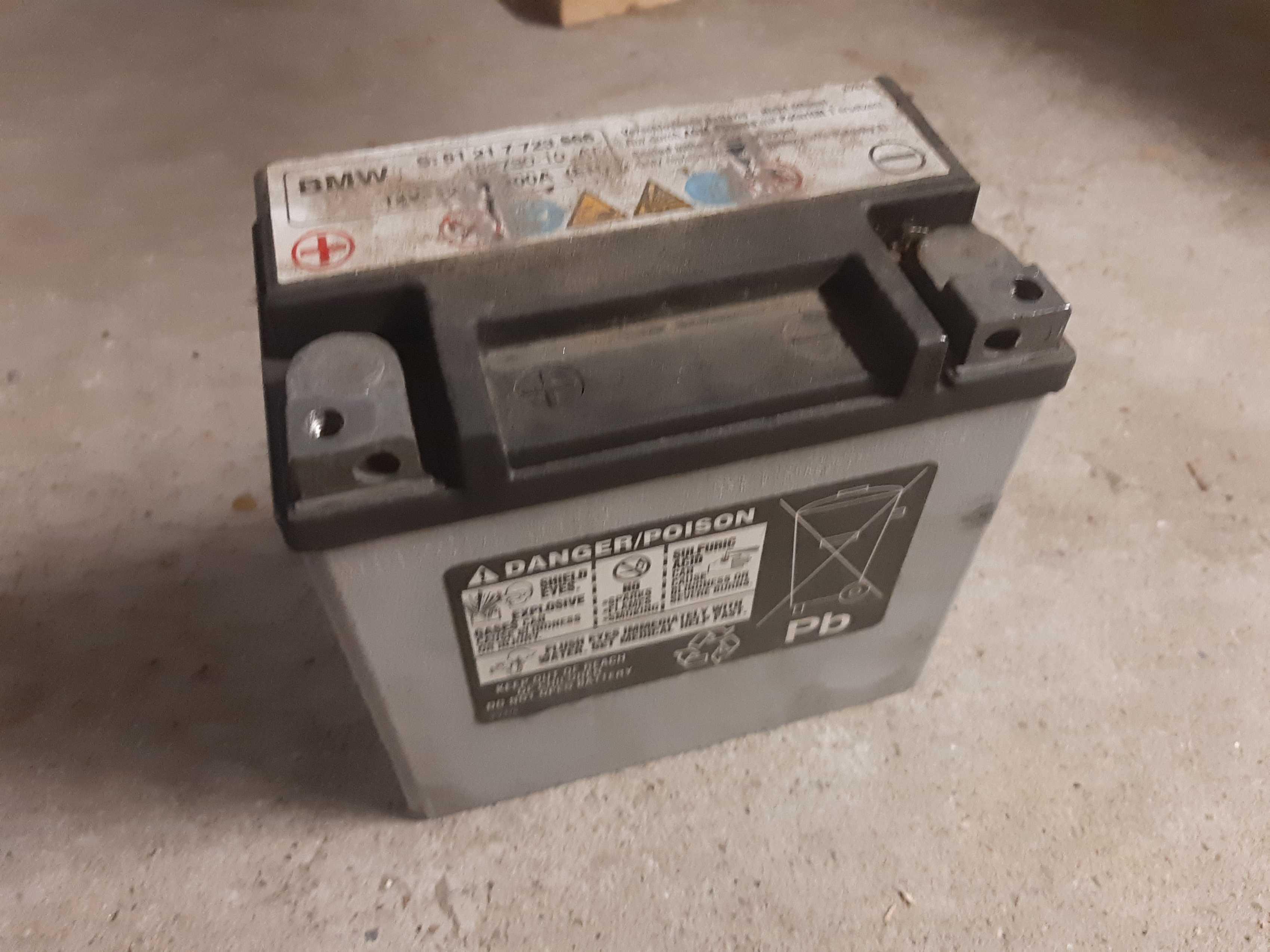 Batterie für die F800GS