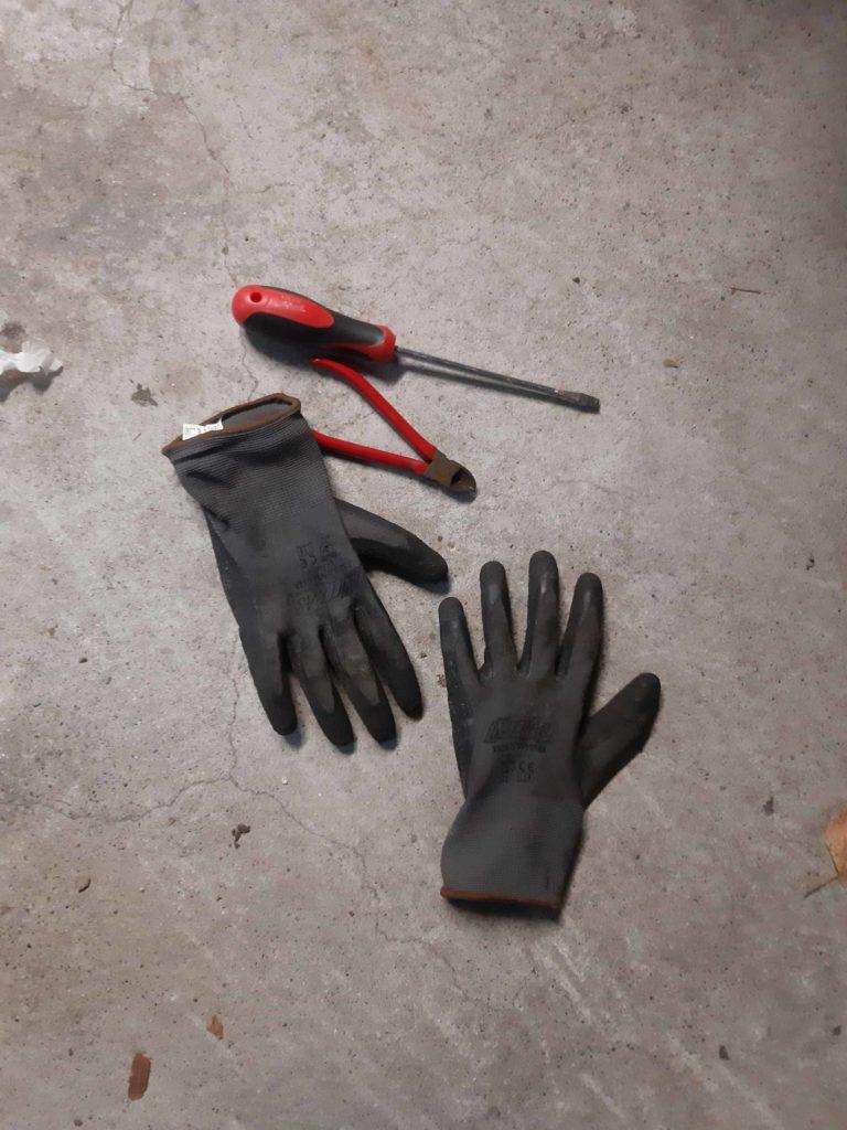 Montagewerkzeug für die Heizgriffe