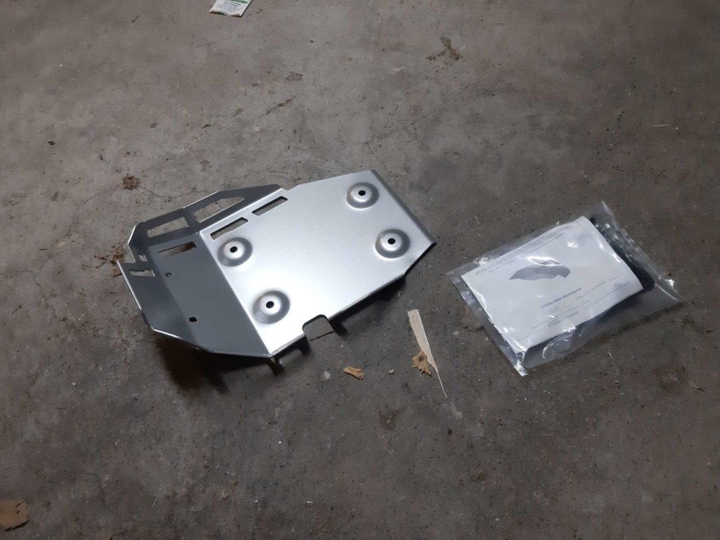 Motorschutzplatte für die F800GS