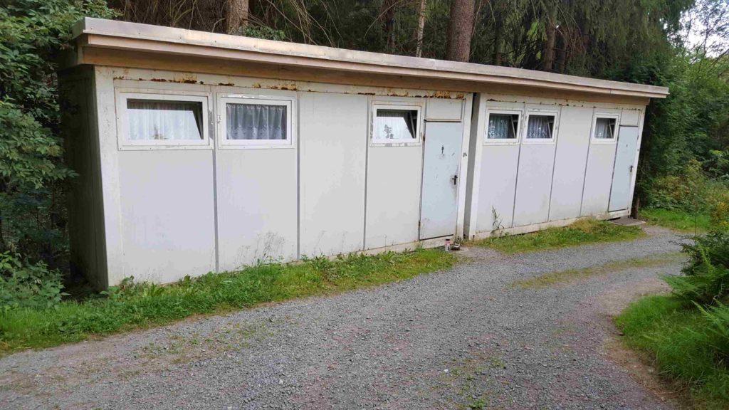 Duschen und Toiletten beim Campingplatz Klingenthal