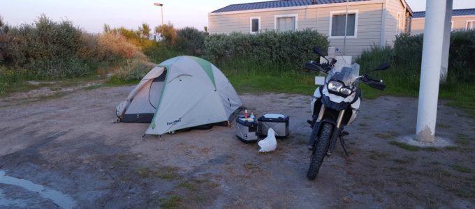 "parzelle auf dem campingplatz ""la brise"""