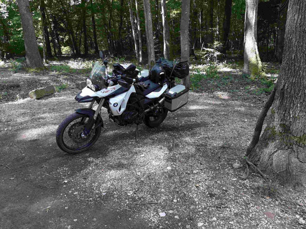 Start der Motorradtour