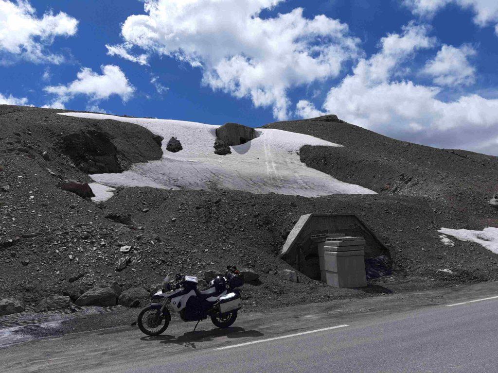 Befestigungsanlagen auf dem Col de la Bonette